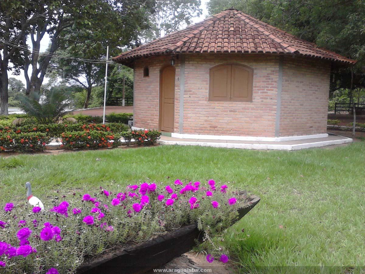 Chalé- Vista Externa